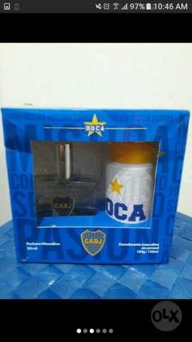 Perfume Mas Desodorante Boca Juniors