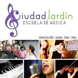 CLASES DE PIANO, GUITARRA Y CANTO, Adolescentes y adultos (Virtual)