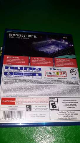 FIFA 20 juego físico