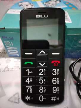 Celular Blu Joy 3G para adulto mayor