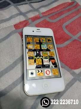 iPhone 4 solo llamadas