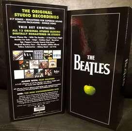 Original Set Completo Discografia The Beatles 13 cd + 2 dvd Compilation Box Importado UK