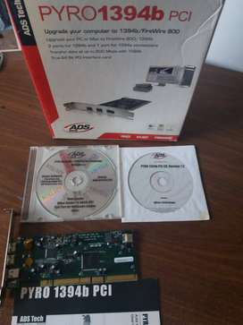PLACA FIREWARE 1394b PCI/PYRO ADS Tech