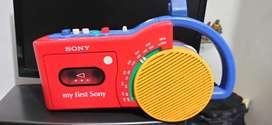 Grabadora Sony clasica