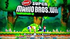 Nintendo Wii disco duro 46 juegos 2 controles caja