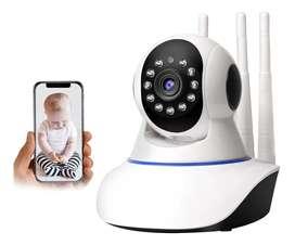 Cámara Seguridad Wifi Hd Inalámbrica Tf/sd Movimiento Ajusta