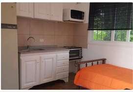Monoambiente para 1 o 2 personas en Saavedra con A/A $24000 todo incluído