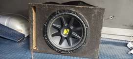 Sub woofer kicker doble bobina 12