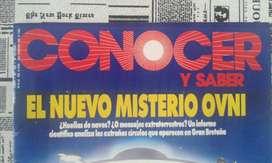 Antigua Revista Conocer Y Saber Numero 29 Año 1991