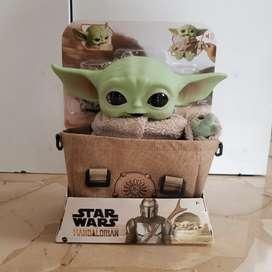 Peluche Baby Yoda 11 Pulgadas 100% ORIGINAL MATTEL