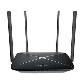 Router Extensor Mercusys WDS WiFi AC12G Banda Dual Gigabit
