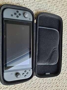 Nintendo Switch 32gb Standard Gris Y Negro, Incluye 3 Juegos