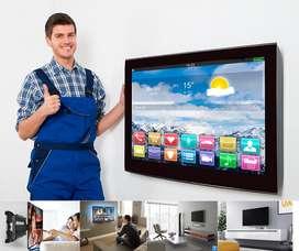 Instalación profesional y Venta de soportes para televisores LCD, PLASMA, LED , CURVOS , instalaciones garantizadas