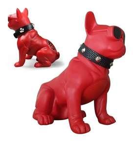 Parlante Bluetooth Perro Bulldog 11cms, Peq Usb Sd Radio Fm