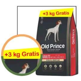Old  Prince adulto pollo y arroz x 20 kgrs más 3 kilos GRATIS