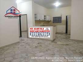 Alquilo Departamento amplio con opción a garaje en Garzota