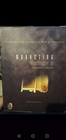 Marketing Volumen Ii 2 - Zikmund / D Amico - Séptima Edición