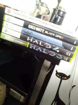Vendo o Cambio Juegos Xbox 360 Originales y juegos Kinect
