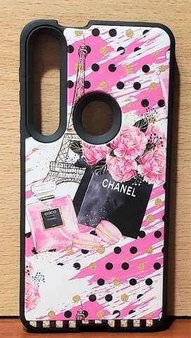Funda Anti golpes protectora print Diseño Chanel