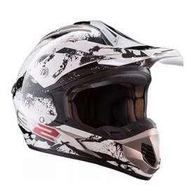 Casco motocross LS2 mx 433 talle L