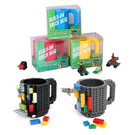 Lego Mug Taza Arma todo Piezas Geek Construye 350ml