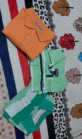Camisas tipo polo de niño