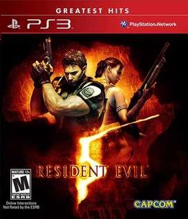 Juegos original ps3 Resident evil 5 - sellado