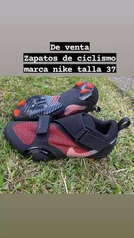 ZAPATOS DE CICLISMO MARCA NIKE ORINALES Y NUEVOS