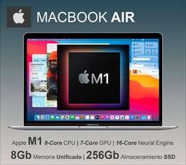 """Apple MacBook AIR CHIP M1 13"""" 256Gb 8Gb Selladas Nuevas Garantía STOCK HOY!"""