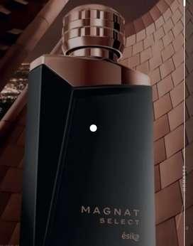 Magant select 90ml de esika loción perfume