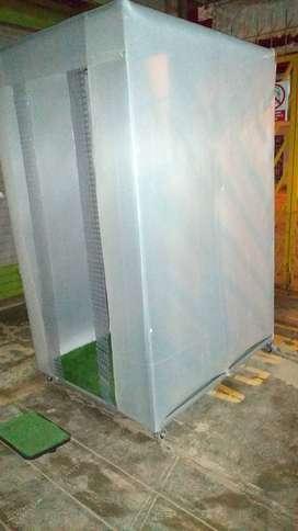 cabinas de desinfección automática