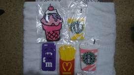 Carcasas Decorativas I Phone 6s todas por $40