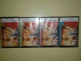 lote de 4 cassettes de musica lo mejor de mozart