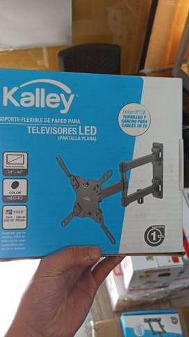 base tv maximo 43 pulgadas kalley distancia de huecos 20*20cm