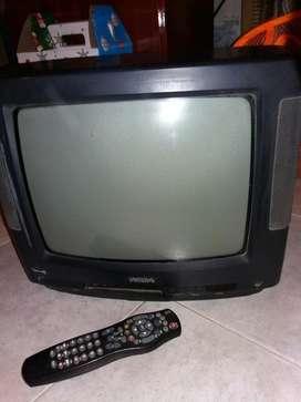 Tv Televisor Phillips 14 con Control Rem