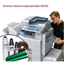 SERVICIO TÉCNICO ESPECIALIZADO RICOH