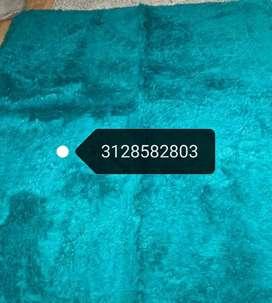 Tapetes peludos colores modernos 200x150cm