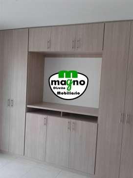 Hacemos armarios y closet en madecor a la medida en Pereira