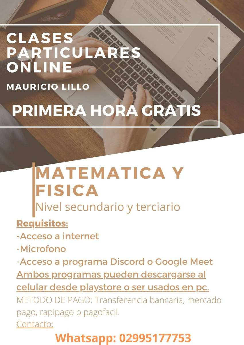 Clases Particulares Online 0