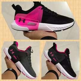 Zapatillas underarmour mujer nuevos estilos y colores nuevas