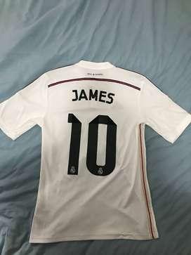 Camiseta original Real Madrid James