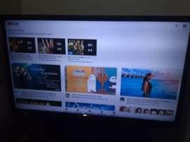 vendo tv olimpo de 32 pulgadas con su aparato smart tv