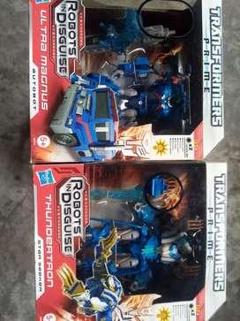Transformers Prime Ultramagnus y Thundertron