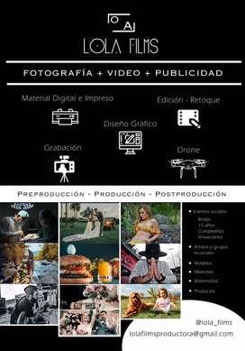 Fotografía - Video - Publicidad