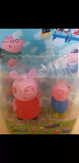 Preppa Pig y George