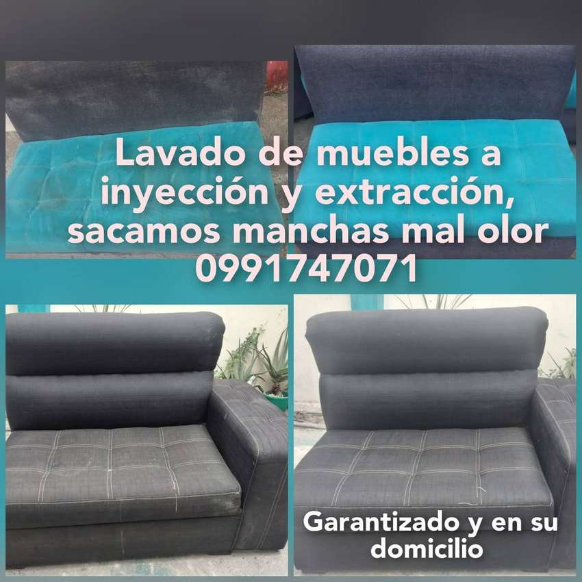 lavado de sillas muebles limpieza a inyeccion y extraccion