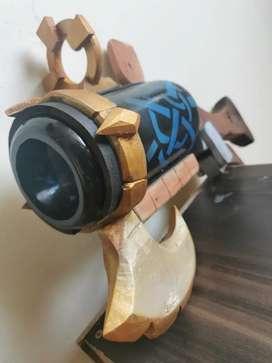 Dota 2, pistola sniper lobo plateado (lampara)