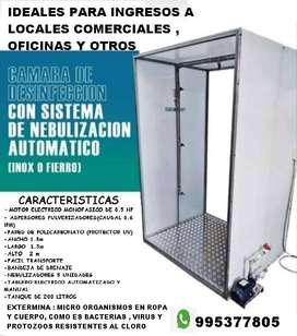 camara de desinfectacion