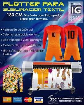 AA Plotter sublimacion textil gran formato