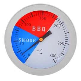 BBQ Termómetro de acero inoxidable parrila ahumadora para barbacoa termómetro de 300 grados
